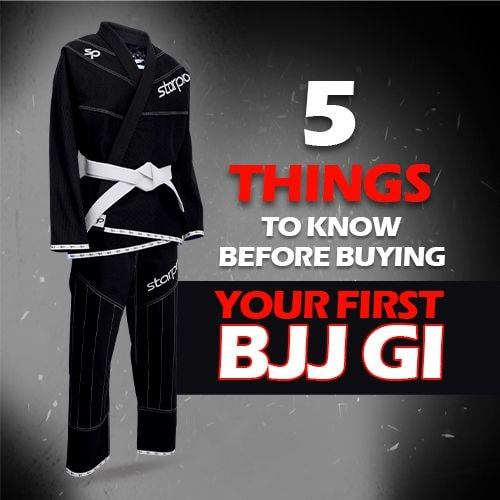 5 Things to Know Before Buying Your First BJJ Gi