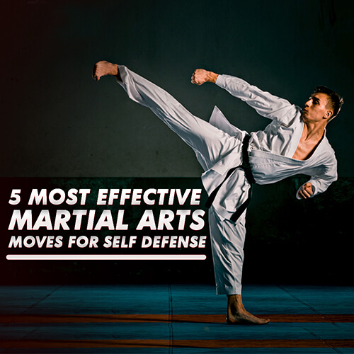 5 Most Effective Martial Arts Moves for Self Defense